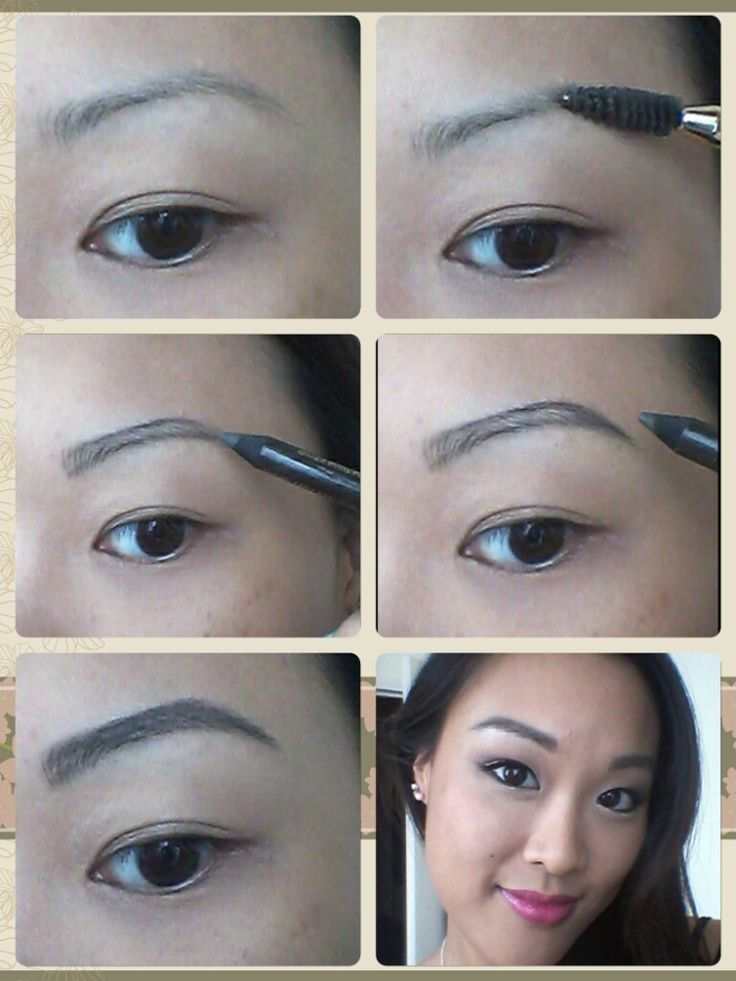 How I do my brows with a pencil