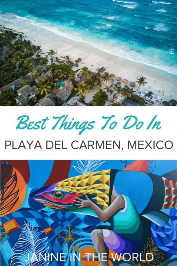 All The Best Things To Do In Playa Del Carmen Mexico The Heart