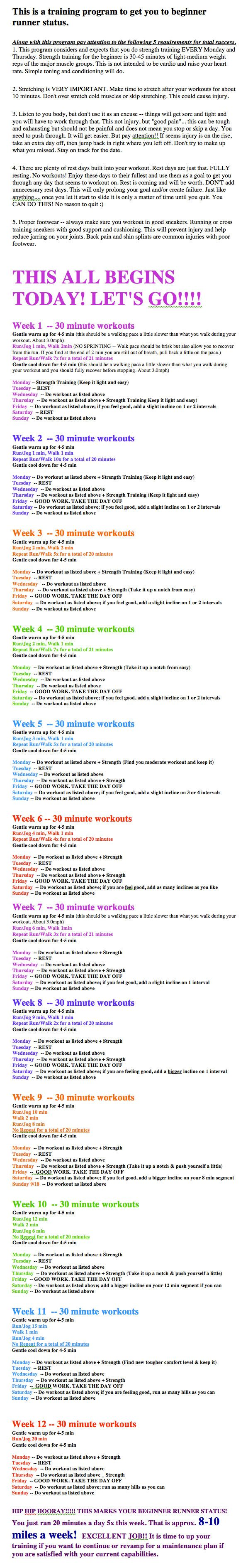 How to get the most out of your 2012 resolution on the treadmill or outside. This is a plan for those who are not runners, but want to be. Or for those who just need to start slow and build cardio capabilities for a better quality of life. Rarely do you f (How To Do A Fast Diet)