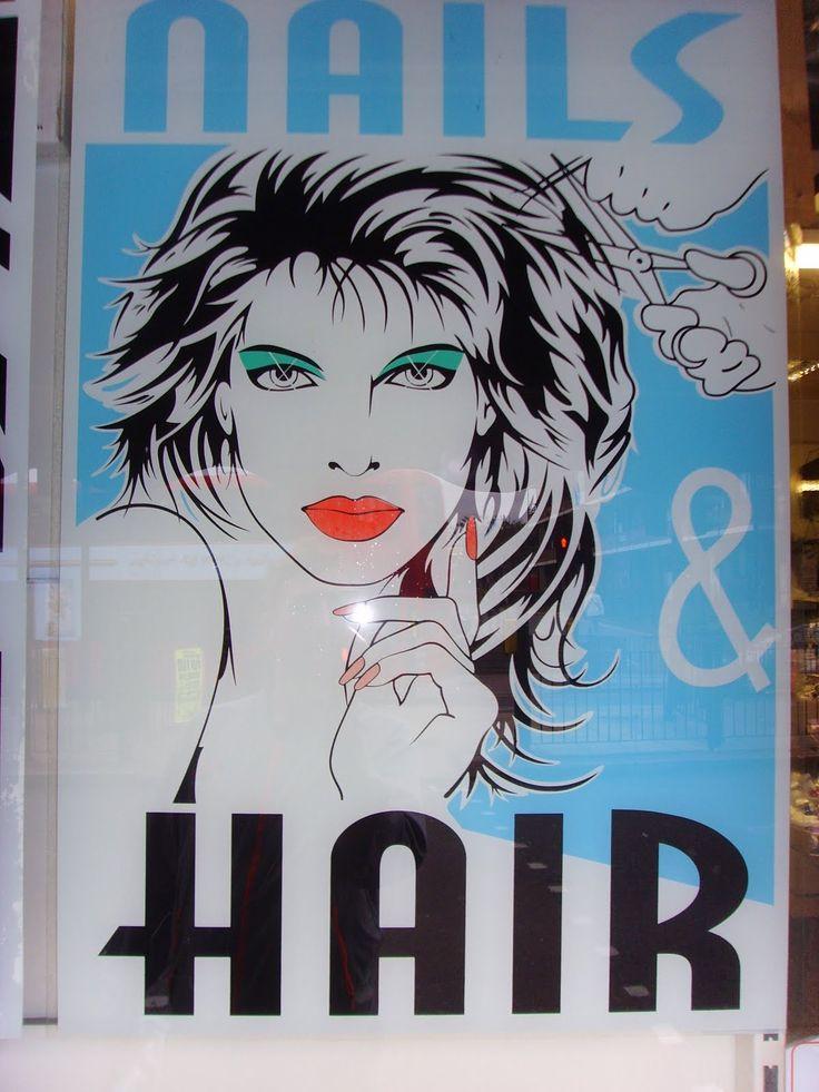 15 Best Patrick Nagel Knock-Off Salon Posters Images On