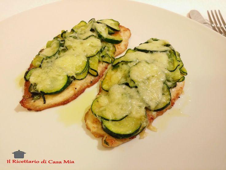 Petti di Pollo con Zucchine ed Emmental