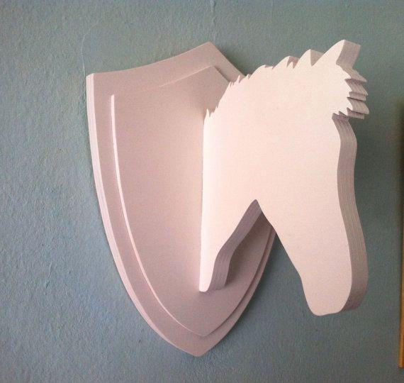 Horse Head legno su ordinazione di Planetasierra su Etsy