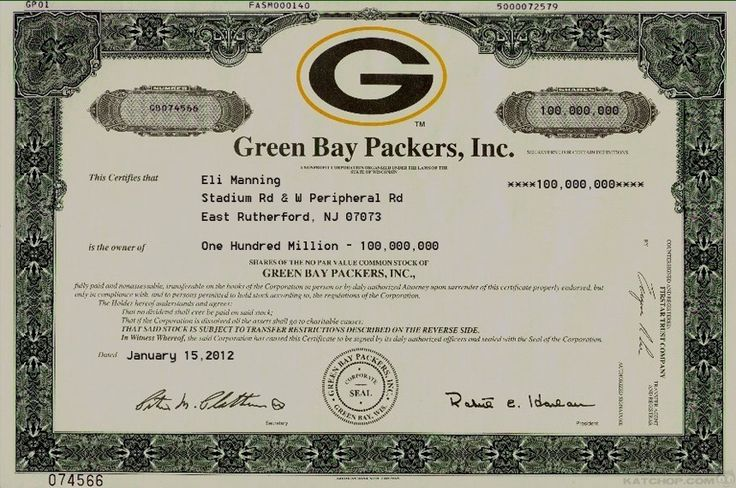 Green Bay Packers, Inc.