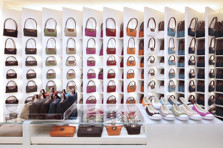 Longchamp Boutique, Milan, Italy – Ph. Matteo Cirenei [ on my website ]