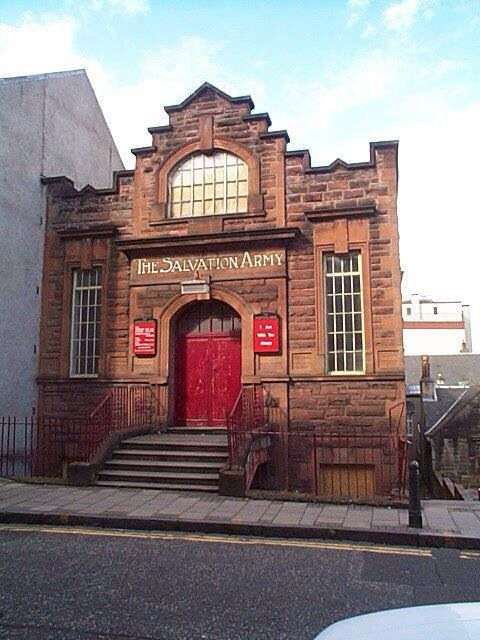 Falkirk- Bank Street- The Salvation Army Mission Hall.