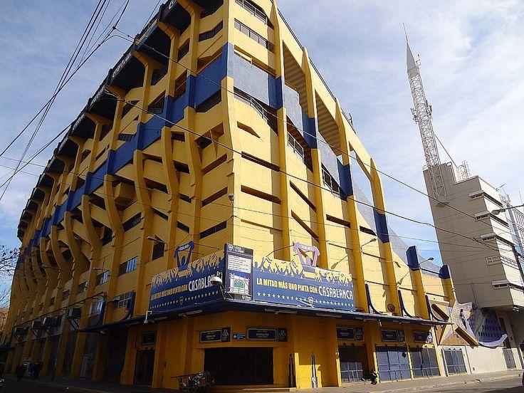Le Stade de La Bombonera, Buenos Aires  http://www.heitza.com/le-stade-de-la-bombon