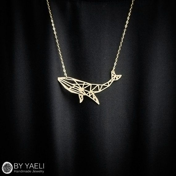 Hey, I found this really awesome Etsy listing at https://www.etsy.com/il-en/listing/281391634/animal-necklace-whale-necklace-geometric
