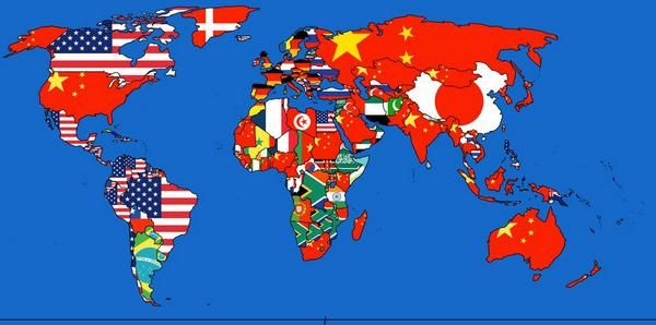 Amazing Maps - Where do countries import the most from?