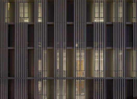 "Producto: Paneles Screen   Screenpanel, Paneles Screen   Quadrolines 30x15 Perforado Programa: Universidad, Universidad Arquitectos: ""GRAA Arqtos"""