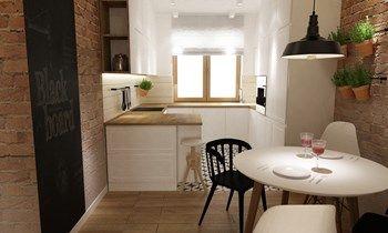 Kuchnia styl Skandynawski - zdjęcie od Grafika i Projekt architektura wnętrz