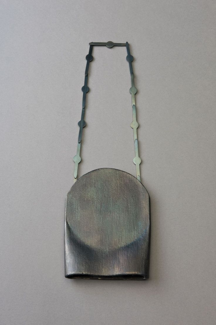 Katrin Feulner, necklace, steel. Night & Day - Exhibitions - Ornamentum…