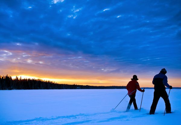 Beautiful four season destination; Prince Albert National Park, Saskatchewan.   Photograph by Kevin Hogarth, Canada Parks