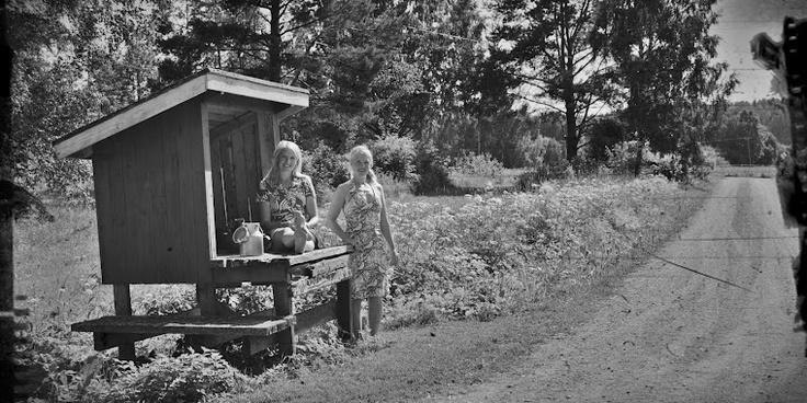 Milk platform in seventies