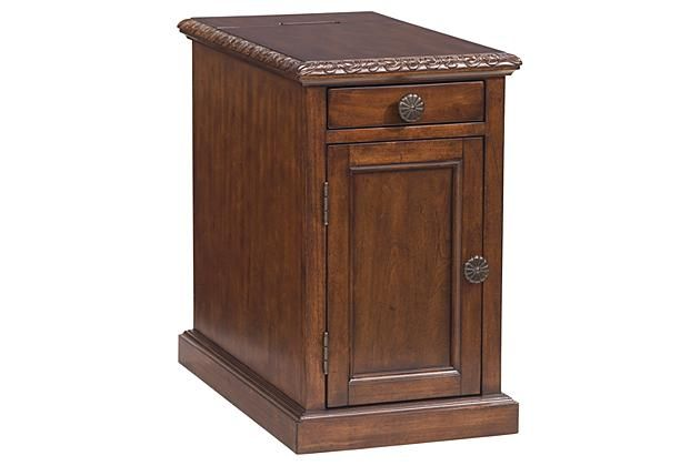 Brown Laflorn Chairside End Table By Ashley Homestore Brown Tables And Ps