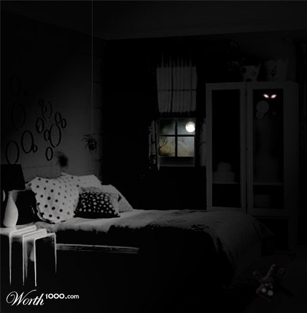 Dark scary bedroom photos pinterest for Dark bedroom ideas tumblr