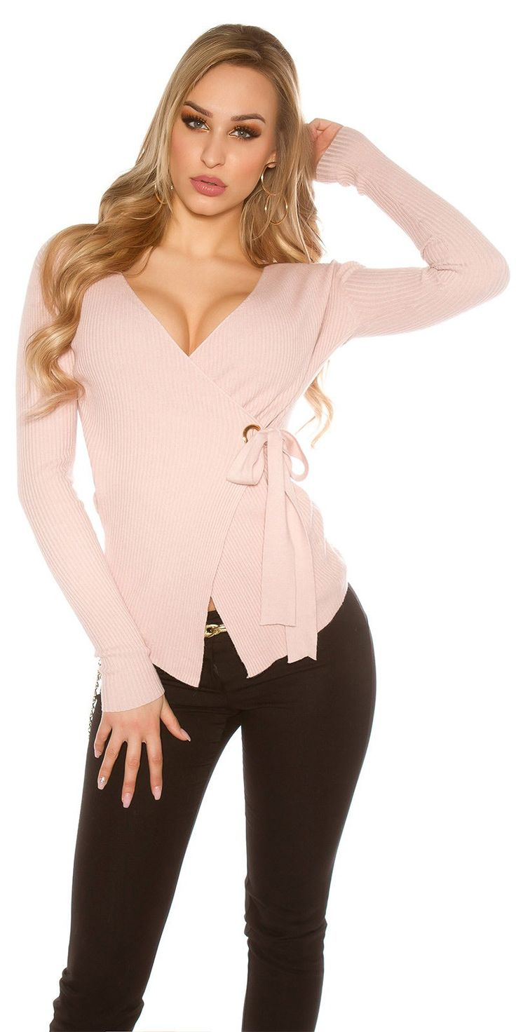 Wrap Sweater - Rosa