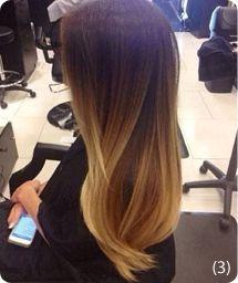 En el pelo liso el efecto ombré, las mechas californianas y los clásicos reflejos destacan