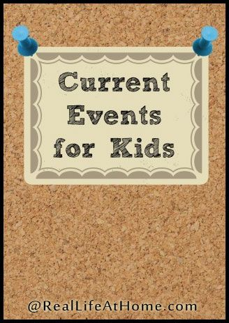 How to Study Current Events with Kids