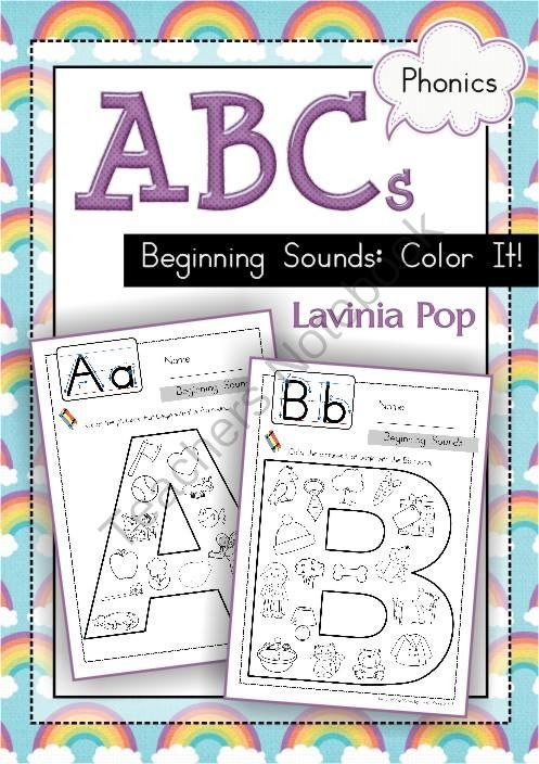 Beginning Sounds Coloring Sounds Like Gift Beginning