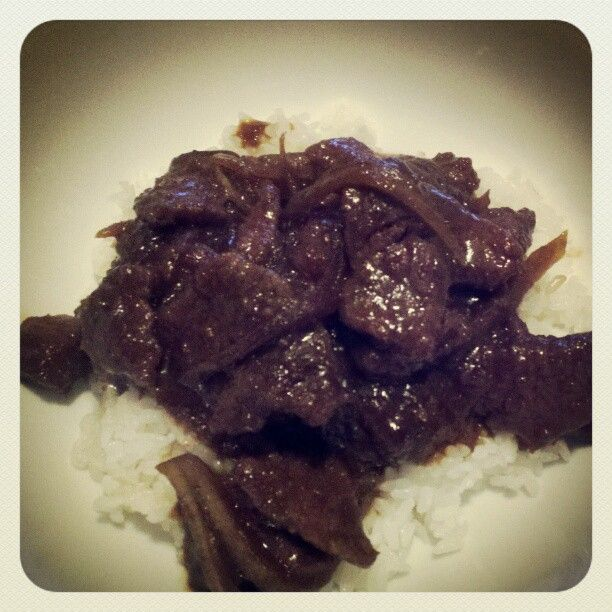 How About an Apple?: Slow Cooker Mongolian Beef