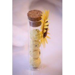 Provetta con bombe seminabili#seed paper #favors #bomboniera ecologica #bombe seminabili