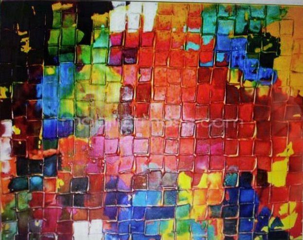 1000 images about cuadros modernos en pinterest - Cuadros colores vivos ...