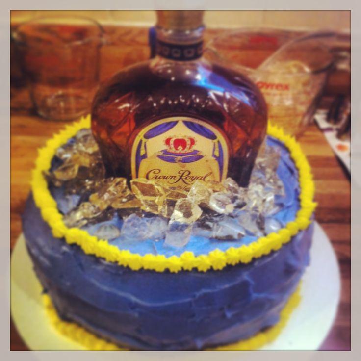 Crown Royal Birthday Cake Photos Cake Recipe