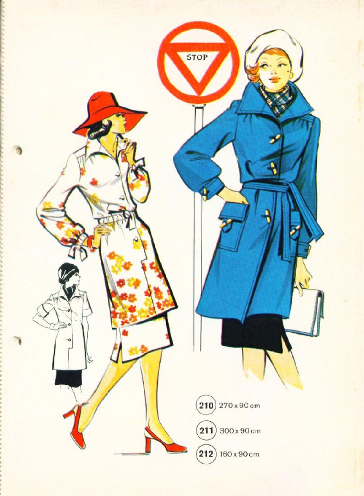 Vintage Sewing Patterns 139 winter 1975  Patternmaking