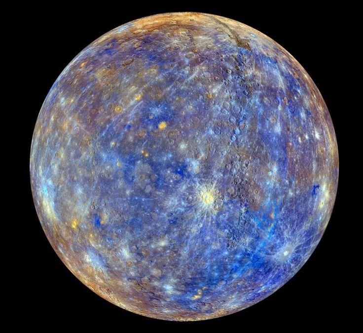 A foto mais precisa do planeta Mercúrio já registrada