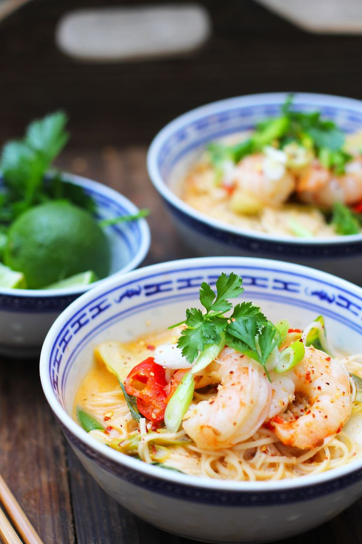 Hot & Sour Thai Prawn Noodles | The Mother Cooker