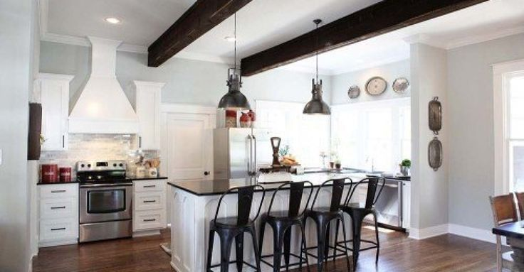Shop the look of this Fixer Upper kitchen. Season 1 episode 1 The gorman Story