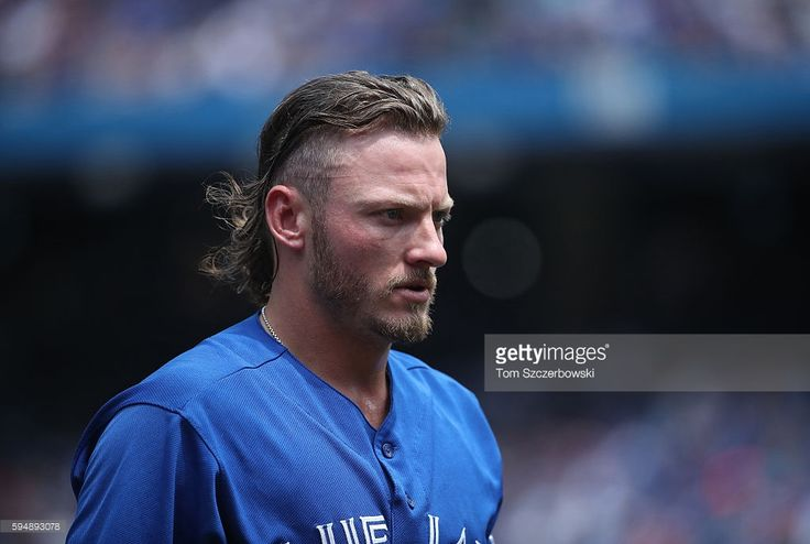 Josh Donaldson #20 of the Toronto Blue Jays reacts as he is stranded at the end of the first inning during MLB game action against the Seattle Mariners on July 23, 2016 at Rogers Centre in Toronto, Ontario, Canada.