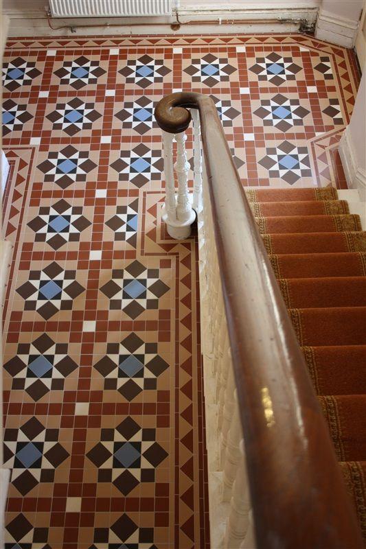 Victorian Floor Tiles Grantham Staircase
