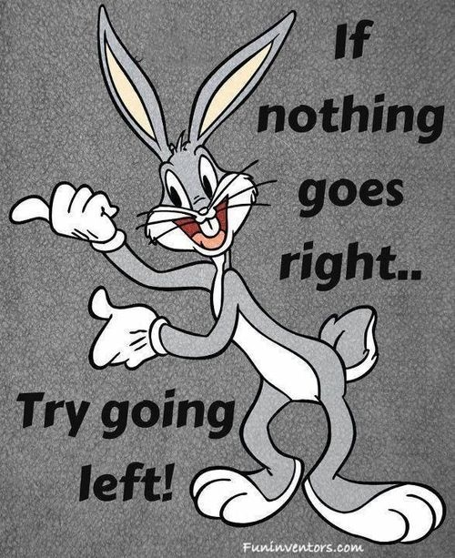 Bugs bunny advice...~~Bet you want a carrot now too, huh? :D xoxoxoxoxoxox