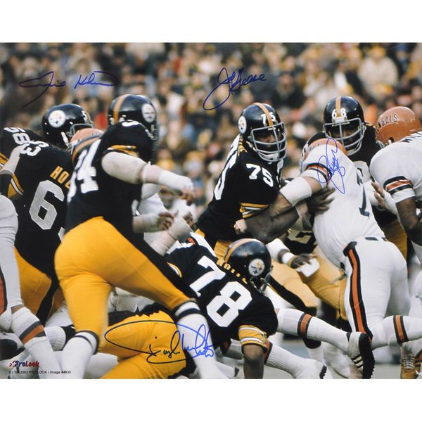 "Steel Curtain Pittsburgh Steelers Fanatics Authentic Autographed 16"" x 20"" vs. Bengals Photograph - $424.99"