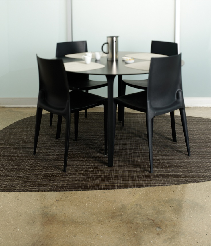 Nice Chilewich Lounge Floorcovering In Russet Cut To A Custom Rug Shape  #sisalcarpet.com · Dining Room RugsFloor ...