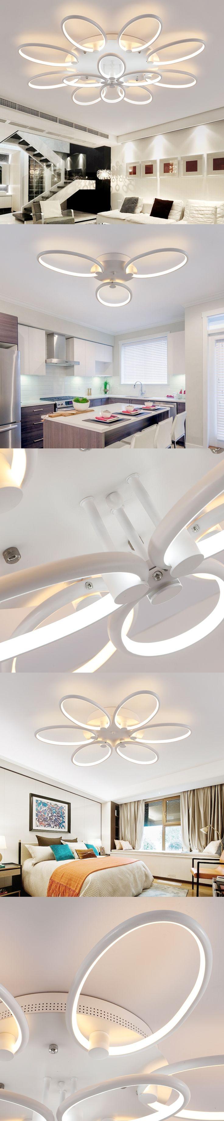 110-220v Aluminum Acryl Ceiling Lights Lamparas De Techo Lustre Led Lights For Home Plafondlamp Plafonnier Lustres De Teto 21