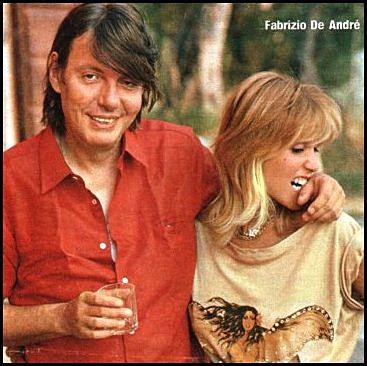 """#FabrizioDeAndè & #DoriGhezzi / """"Pinned from Pinterest"""""""