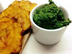 DIP DE ESPINACA sin lácteos, sin gluten aquí perfecto acompañamiento para unos tostones Ingredientes: un manojo grande de espinacas,...