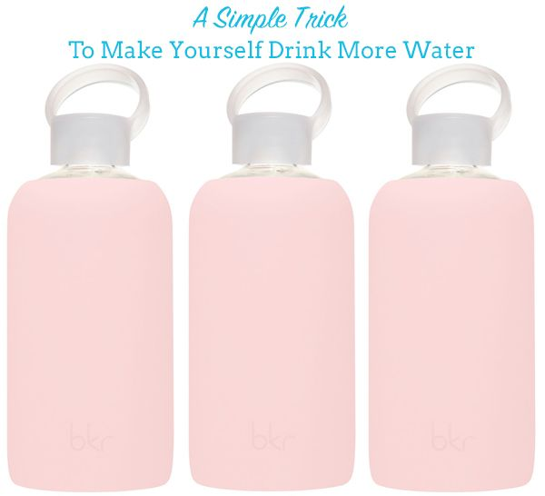 Healthy Habits: How to Make Yourself Drink More Water
