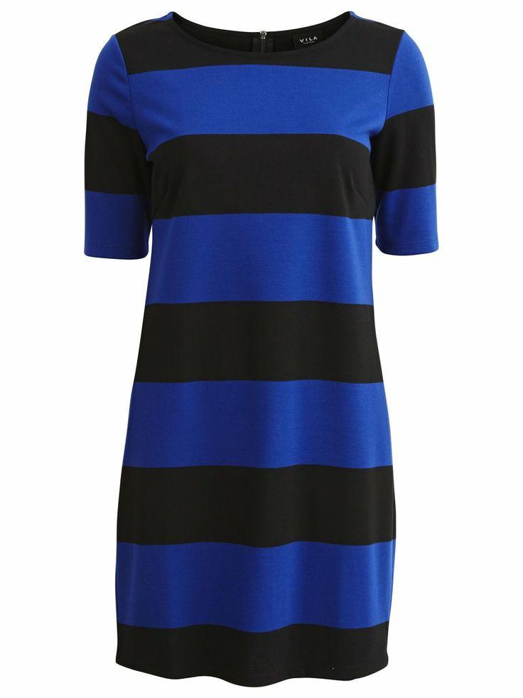 NEWBEX DRESS - #blue #colour #dress #vilaclothes