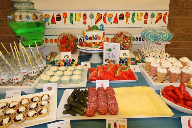 The Very Hungry Caterpillar Birthday Party Ideas   Photo 13 of 18