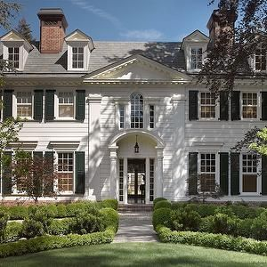 Father of The Bride Style Home, Traditional, home exterior, Pacific Peninsula Group