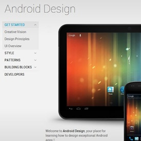 """Google's """"Android Design"""" Style Guide"""
