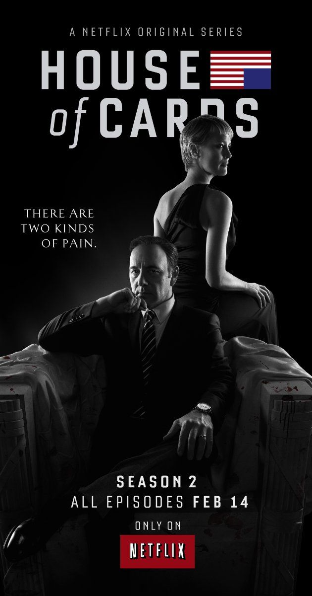 House of Cards season 2 was every bit as good as Season One..so well-acted..so smart..so devious..keeps you flipping from one episode to the next on a hungry binge til they are all gone..loved it