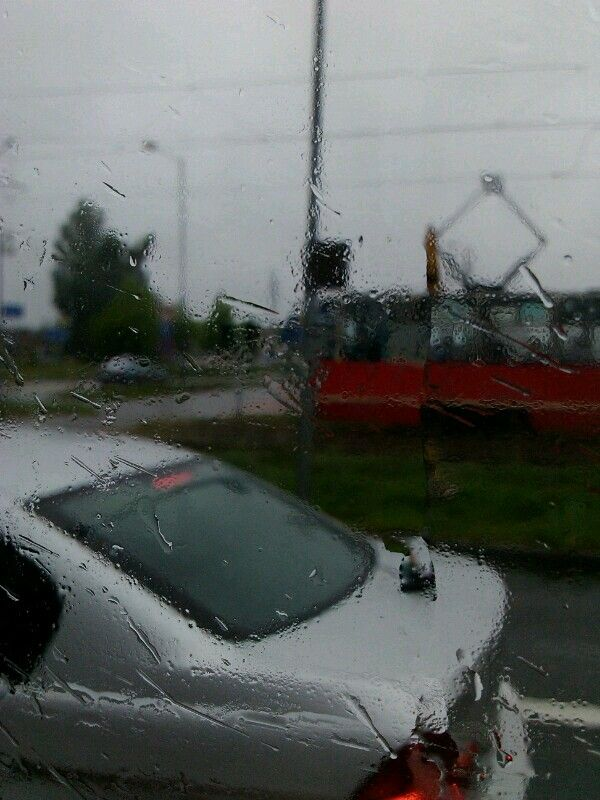 I really don't like raining days