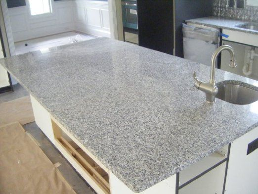 Make The Countertops Gray Granite With Specially Made