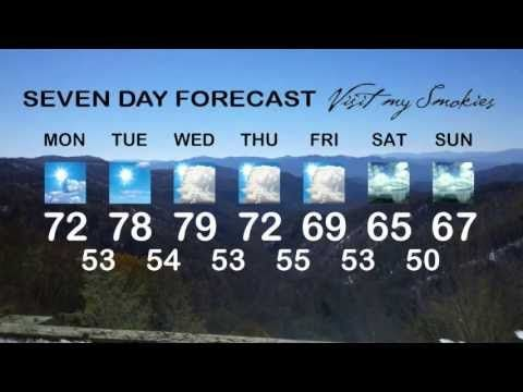 visitmysmokies.com weather week of April 29, 2013 Gatlinburg and Pigeon Forge is looking springlike according to Smoky Mountain meteorologist Paul Poteet. Wondering what to do in Gatlinburg and Pigeon Forge? Paul has you covered with the Townsend Old Timer's Day and the Pigeon Forge Yellow Mustang Show. It's always fun in the Smokies!  #Gatlinburg weather #Pigeon Forge weather #Dollywood weather