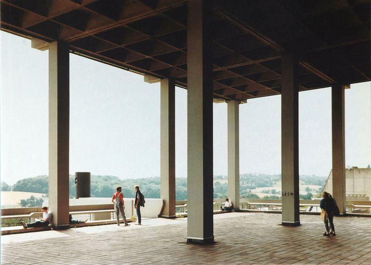Andreas Gursky, Uni Bochum, (1988)