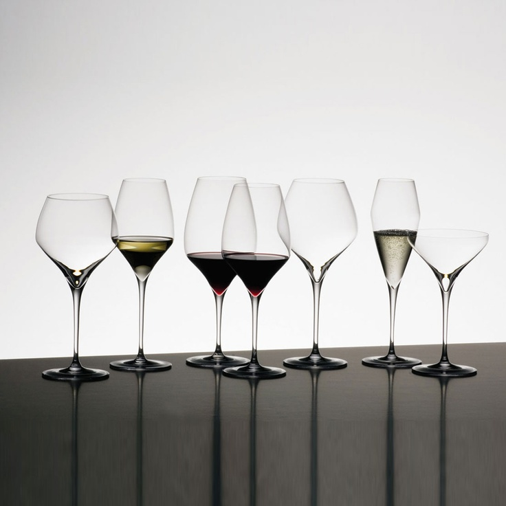 Riedel: Vitis   Have to have plenty of nice wine glasses for the dinner and parties!